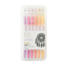 Kaisercraft Gel Pen Box 12 Pastel Colours